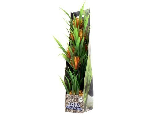 Cheeko Advertenties Oranje Bloem Kunststof Plant, 30 cm