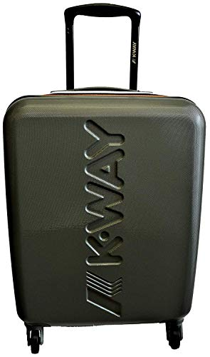 Trolley Rigido 64cm 4 Ruote Medio | K-Way | Army