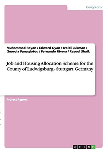 Job and Housing Allocation Scheme for the County of Ludwigsburg - Stuttgart, Germany