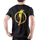 Static Shock Man 100% algodón Camiseta de Manga Corta Muscle Gym Workout Athletic Shirt