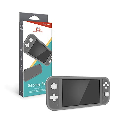 Hyperkin Silicone Skin for Nintendo Switch Lite (Gray)