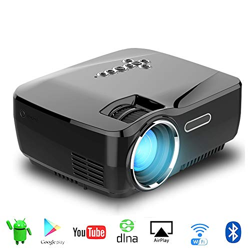 Great Features Of Android Projector with WiFi Bluetooth Support 4K 2K Video Projector LED Home 138 I...