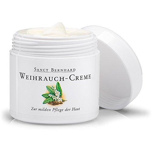 Sanct Bernhard Weihrauch-Creme mit Weihrauchöl, Pflanzenöl - 100 ml