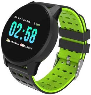 XuBa IP67 - Smartwatch Impermeable con pulsómetro, presión Arterial, Fitness, Pulsera, Color Verde