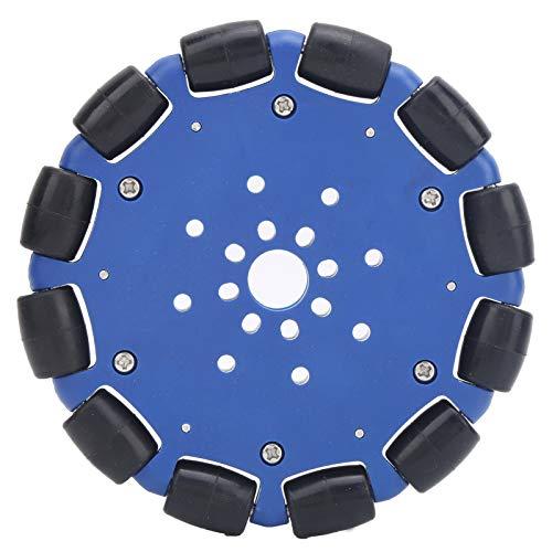 Omni Wheel-5604‑0014‑0120 Rueda omnidireccional de goma Pieza de robot Accesorio de rueda Omni