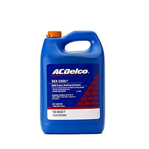 ACDelco 10-5027 Dex-Cool 50/50 Pre-Mix Engine Coolant/Antifreeze - 1 gal