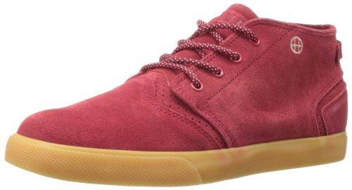 HUF Herren Skate-Schuh Mercer Rubber, Rot (Red/Gum), 47 EU