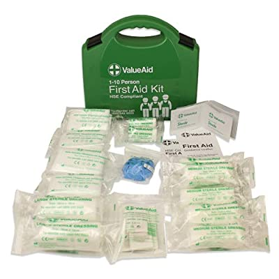 Value Aid HSE Compliant Workplace First Aid Kit (1-10 Person) by Value Aid