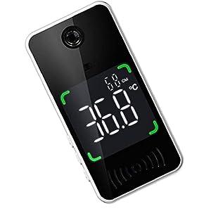 Scanner di temperatura corporea, termometro remoto senza touch temperatura a infrarossi misura misurazione rapida intelligente (senza batteria)