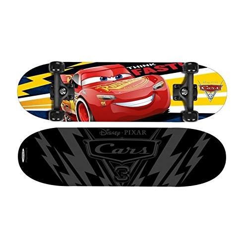 Cars Jungen C893310 Skateboard, ROT, 28