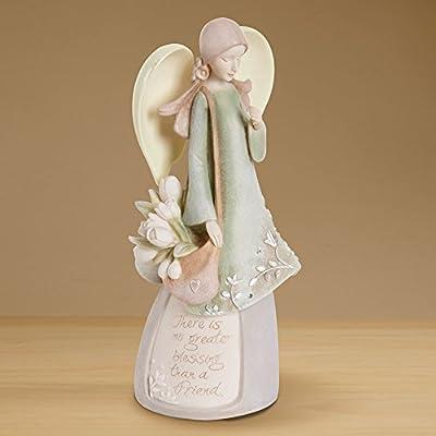 Enesco Foundations Our Father Prayer Angel Figurine