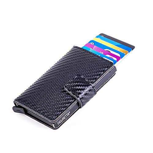 Figuretta RFID uitschuifbare creditcardhouder - Portemonnee - Anti skim pasjeshouder