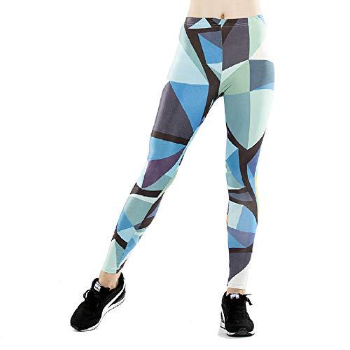 DSCX legging voor dames, mode, leggings met hoge taille fitness joggingbroek yoga panty's plus size