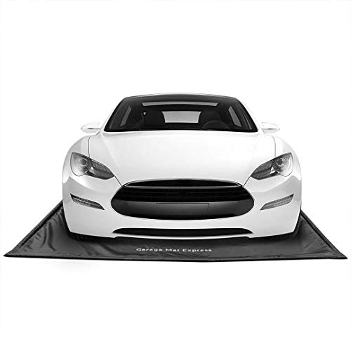 GarageMatExpress Black 7'9' x 18' Midsize/Small SUV Floor Containment Mat for Snow, Mud, Ice