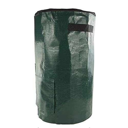 Find Bargain Reusable garden trash bags, Heavy kitchen waste fermentation compost bin, Yard Homemade...