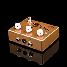 TTONE New KLONE Overdrive Guitar Pedal Boutique Professional Stompbox Metal Golden Horse