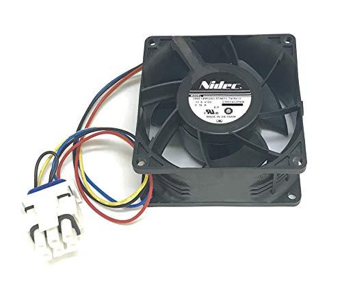 GE Refrigerator Evaporator Fan For GE Refrigerators: V80E14MS2A3-57A611