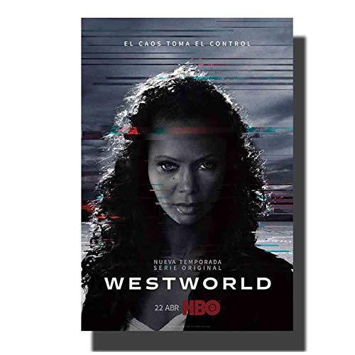 chtshjdtb Westworld TV Stagione 2 Art Poster e Stampe su Tela Pittura Decorazione della Parete di casa-50x70 cm Senza Cornice 1 pz