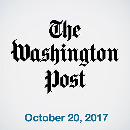 October 20, 2017 copertina