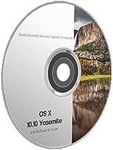 Mac OS x 10.10 Yosemite Boot DVD Install Reinstall Recovery Upgrade Downgrade Disk