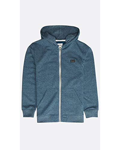 Billabong™ Boys' All Day Zip Hoodie - 10 - Blau