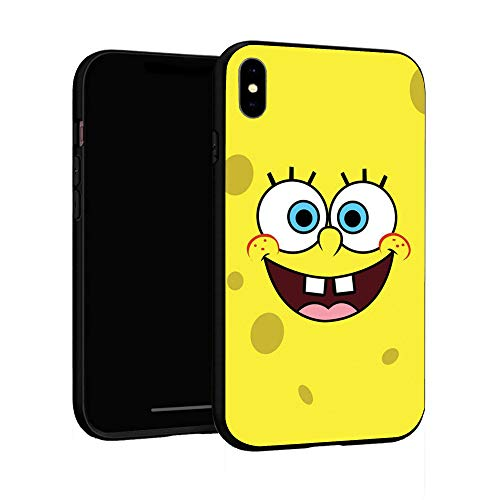 N / A iPhone XR Case Basic Case Plastic Cover for iPhone XR (Sponge-bob)