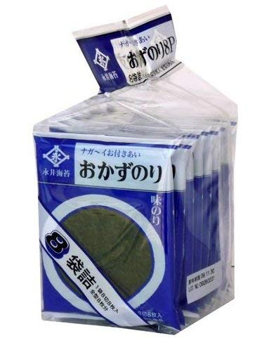 味付のりニューおかず 8パック入り /永井海苔(2袋)