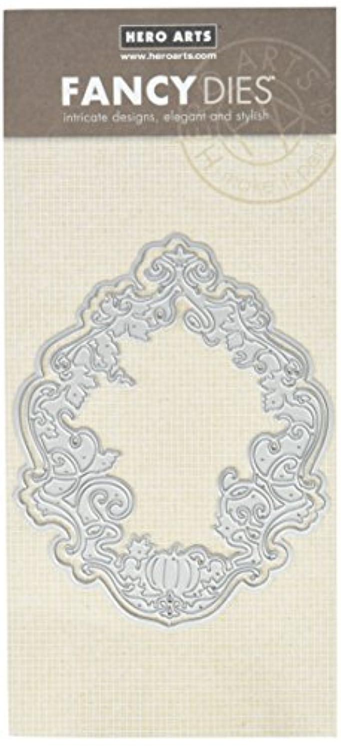 Hero Arts Gothic Vines Fancy Frame (D) Die Cut