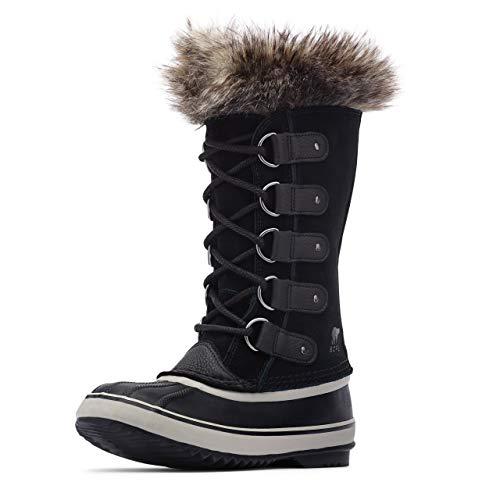 Sorel Women's Joan of Arctic Boots, Black/Quarry, 7.5 Medium US