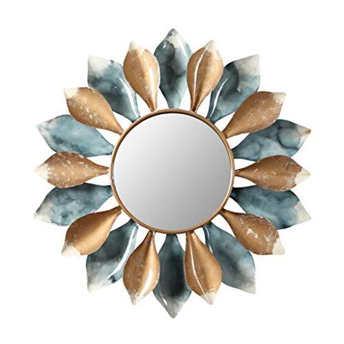 YXB ronde badkamer spiegel zonnebloem open haard restaurant decoratieve veranda toilet spiegel muur spiegels Art J4/10