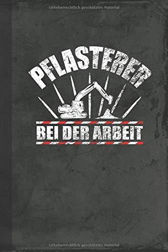 Pflasterer bei der Arbeit: Kalender Terminplaner (Pflasterarbeiten Taschenkalender) (German Edition)