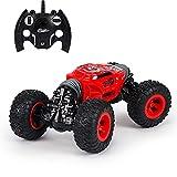 RC Versión de actualización de automóviles Radio Control remoto Toy Cars Monster Truck Bigfoot Doble cara Control remoto Modelo Vehículo Vehículo imaginativo Play 4+ años niños pequeños para niños peq