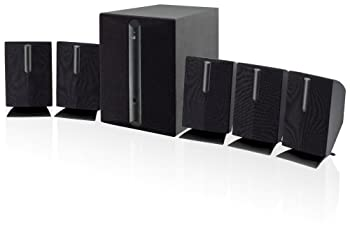 GPX HT050B 5.1 Channel Home Theater Speaker System  Black