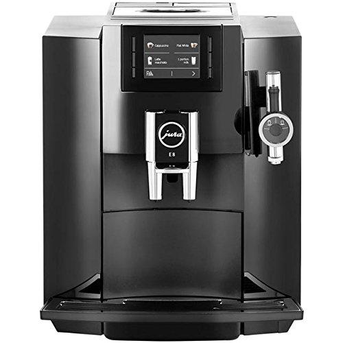 Jura E8 Bean to Cup koffiemachine - zwart. Ideale keuze voor elke koffiekenner