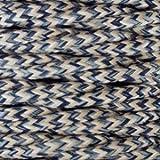 Cable eléctrico vintage trenzado. Bobina de 5 metros en PVC de 2 núcleos x 0,75 mm de sección color DENIM.