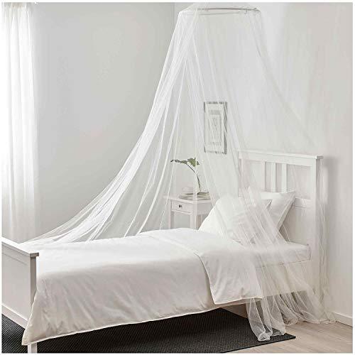 Linkbro Moskitonetz Doppelbett [XXL, Weiß] Moskitonetz Reise, Travel Set, Doppelbetten–Das Original, Tragbar, Insektenschutz Auf Der Reise