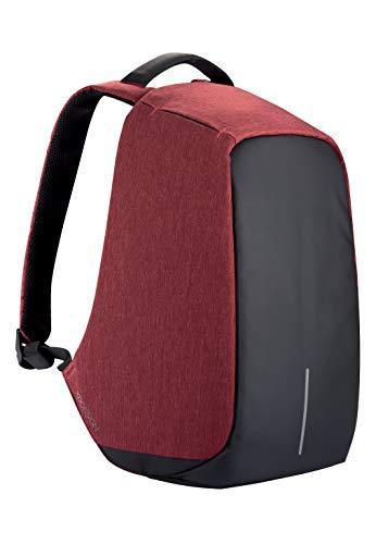 XD Design Bobby Original Zaino Antifurto Rosso Portatile USB (Borsa Unisex)