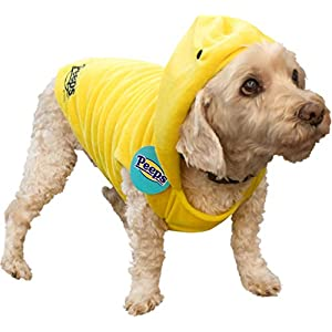 Peeps for Pets Chick Costume for Dogs, Small | Halloween and Easter Costume for Small Dogs, Please See Sizing Chart for More Details