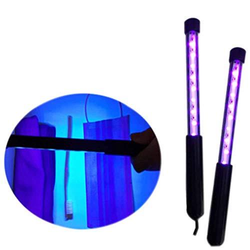 Handheld UV Sterilisator - Usb Portable Zakenreis Carkit Desinfectie Stick - Voor in De Auto, Lift, Tandenborstel, Handdoek, Mask