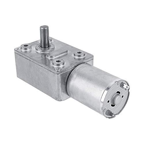 NanXi Reversible High Torque Schneckengetriebemotor DC 12V Reduktionsmotor CW/CCW (5RPM)