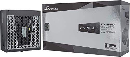 Seasonic Prime TX-650 Fully Modular PC-Power Supply 80PLUS Titanium 650 Watt