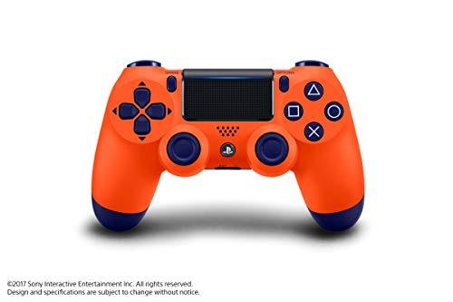 Controle Dualshock 4 - PlayStation 4 - Laranja Sunset - Exclusivo Amazon