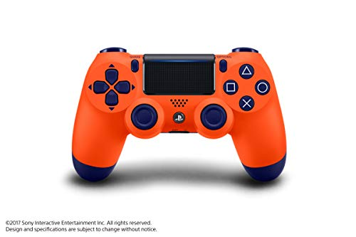 Controle Dualshock 4 - PlayStation 4 - Laranja Sunset - Exclusivo Amazon