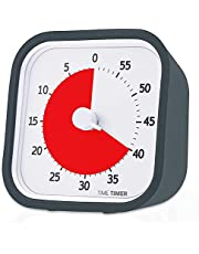 【正規品】TIME TIMER タイムタイマー モッド (カバー付き) 9cm 60分 チャコールグレイ TTM9-W 時間管理