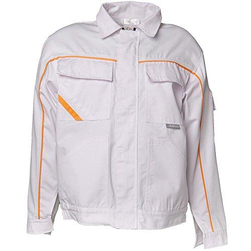 Planam 2317025 Highline Blouson de travail Taille 25 en Blanc/Jaune