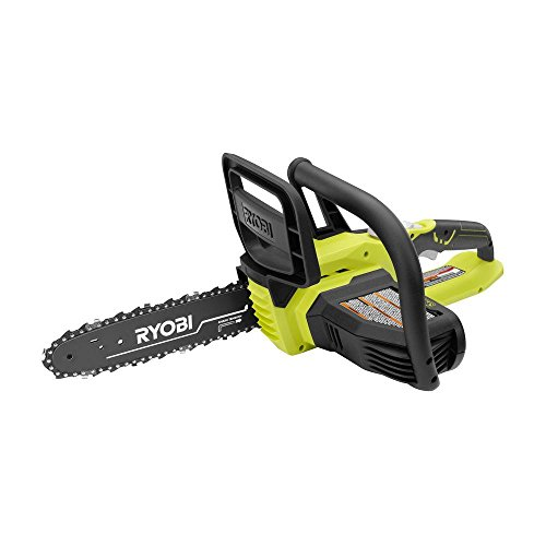 RYOBI P546A 10 in. ONE+ 18-Volt Lithium+ Cordless Chainsaw (Tool Only - Battery and Charger NOT Included)