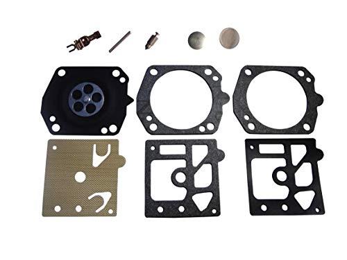 QAZAKY Carburetor Diaphragm Gasket Rebuild Repair Kit for Walbro K24-HDA Husqvarna 357 XP 359 EPA HDA-171 Carb