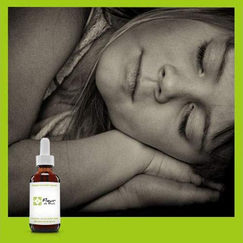 """Fleurs de Bach enfants - bébé et sommeil""""SANS ALCOOL""""- Pour une nuit calme et paisible, sans crainte ni peur.FL de 30 ML"""