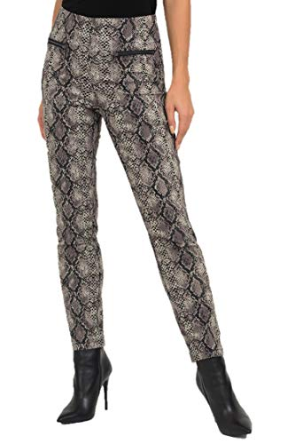 Joseph Ribkoff Black & Taupe Pants Style - 193548 Fall 2019 Collection (12)