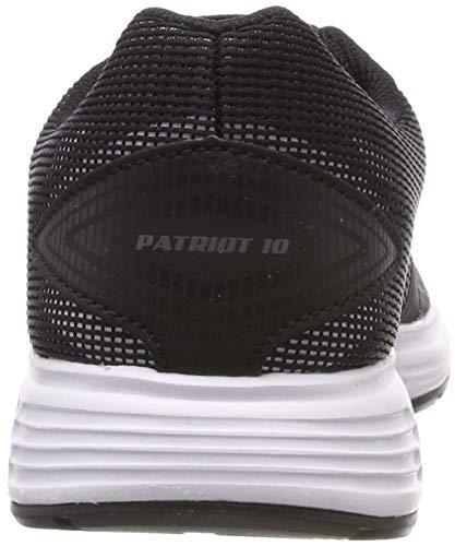 Asics Patriot 10 1012a117-005, Zapatillas de Entrenamiento Mujer, Negro (Black 1012a117/005), 41.5 EU